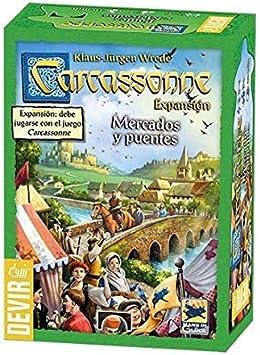 Promohobby Expansion Carcassonne: Mercados y Puentes: Amazon.es: Juguetes y juegos
