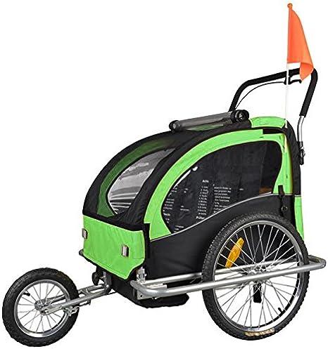 TIGGO World - Remolque para Bicicleta para Niños y Jogging Combo ...