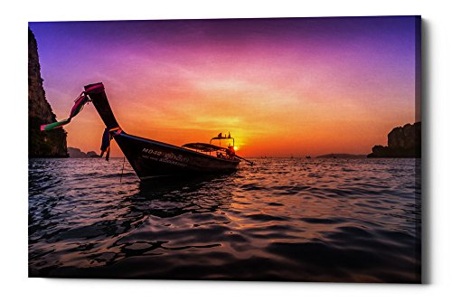 - Cortesi Home Longtail Sunset Giclee Canvas Wall Art, 40