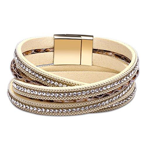 Glitter Rope Bracelet - 6