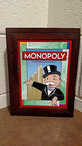(Library Monopoly Vintage Book Game)