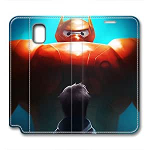 iCustomonline Leather Case for Samsung galaxy Note 3, Big Hero 6 Ultimate Protection Leather Case for Samsung galaxy Note 3