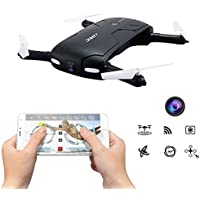 Drone Quadcopter, GEEDIAR JJRC H37 Mini Drone Rc Quadcopter With Cameras WiFi FPV with 0.3MP Camera Phone Control RC Drones High Hold Mode Quadcopter Support One Key Return