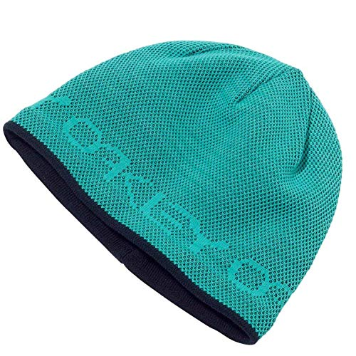 Oakley Women's Repeat Inner Lined Fleece Beanie - Turquoise