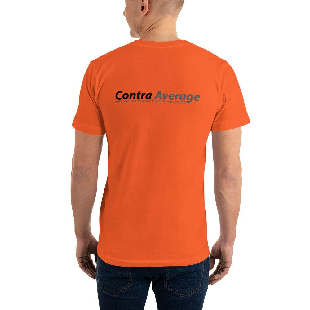 Contra Average Relentless Short-Sleeve T-Shirt Orange