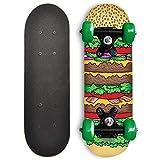 RudeBoyz 17 Inch Mini Wooden Cruiser Graphic Beginner Skateboard