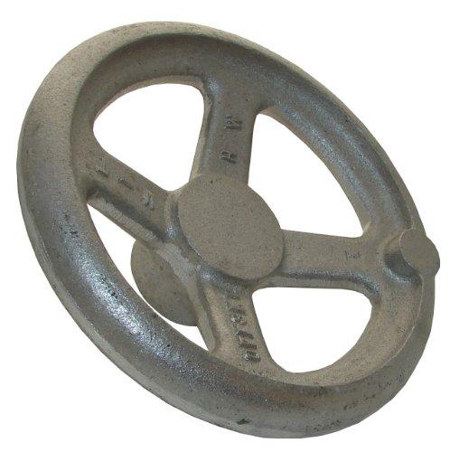 6 Diameter Morton OHW-6A Aluminum Offset Dished Hand Wheel