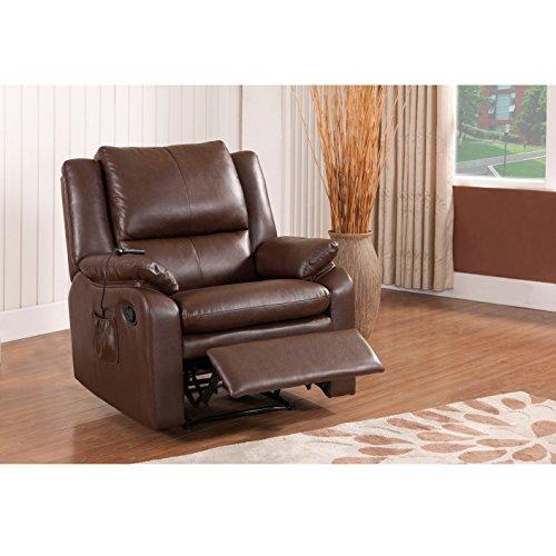 K & B Furniture R7205 Massage Recliner by K & B Furniture