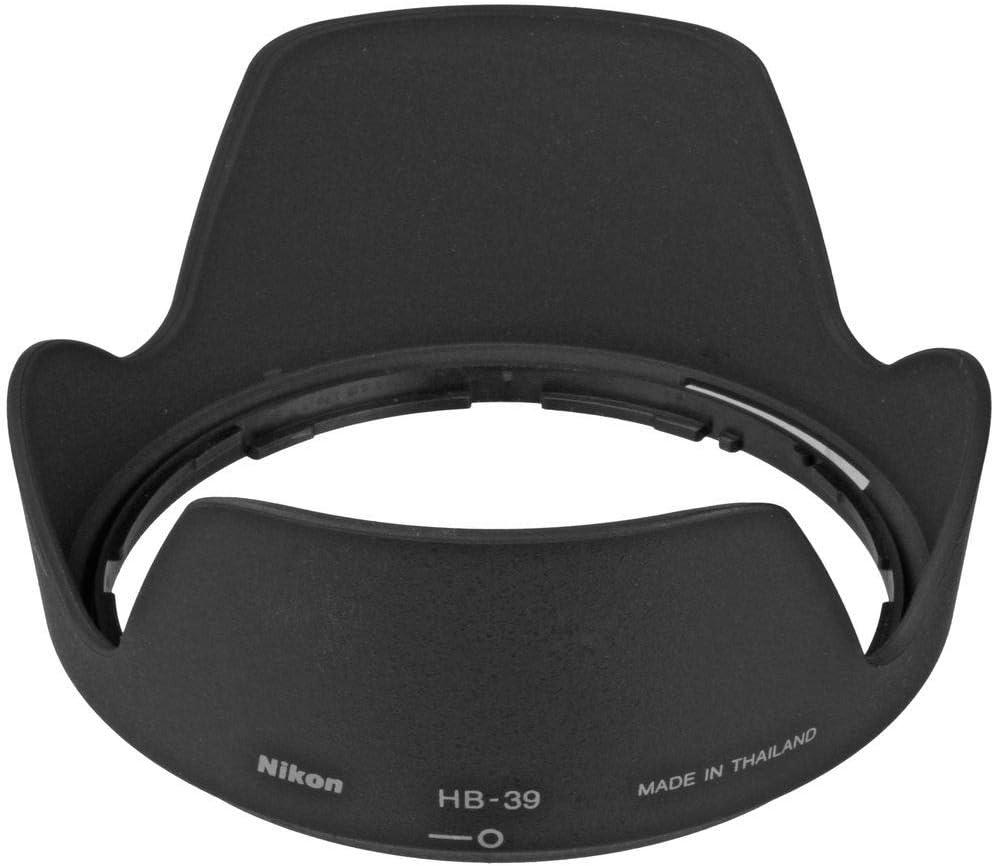 Haoge Bayonet Lens Hood for Nikon Nikkor AF-S 16-85mm f3.5-5.6G ED VR DX and Nikon Nikkor AF-S 18-300mm f3.5-6.3G ED VR DX Lens Replaces Nikon HB-39