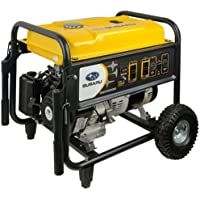 Subaru SGX5000 9.5 HP Gas Powered Commercial Generator, 4900W