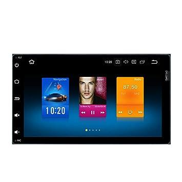 Dasaita Android 8.0 Autoradio 2 Din Radio Coche Bluetooth Manos Libres para Toyota Corolla Auris,