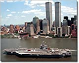 USS John F Kennedy Aircraft Carrier NYC 8x10 Silver Halide Photo Print