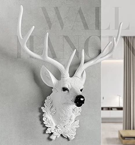 White Deer Antlers Wall Decor from images-na.ssl-images-amazon.com
