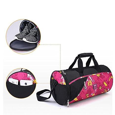 Amazon.com: WRI.UY Sports Gym Bag Fitness for Women Men Bags ...