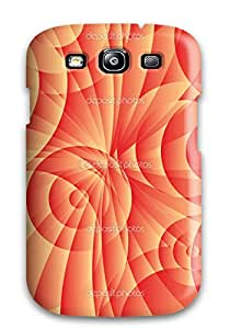 Brrson Case Cover For Galaxy S3 - Retailer Packaging Funky Circles Art Protective Case