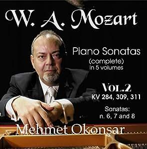 Mozart Complete Piano Sonatas VOL.2