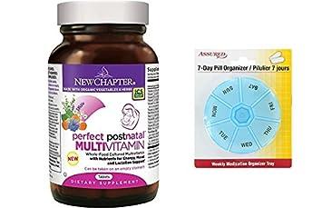 Nuevo capítulo perfecto vitamina Postnatal, lactancia suplemento con vitamina D3 B vitaminas ingredientes orgánicos no