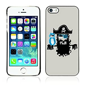 Designer Depo Hard Protection Case for Apple iPhone 5 5S / Cool Pirate Artwork