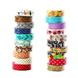 Office Products : DECORA 20 Pieces Colorful Decorative Washi Tapes for Notebooks, DIY Crafts and Gift Decoration