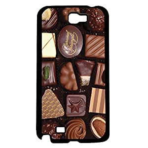 lintao diy Life Is Like a Box of Chocolates Hard Snap on Phone Case (Note 2 II)