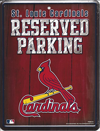 MLB St. Louis Cardinals Parking Sign
