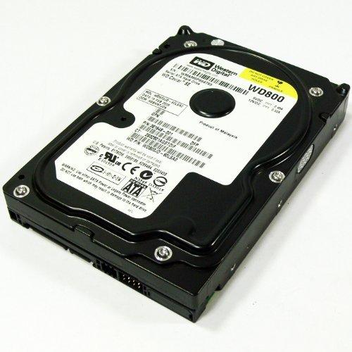 Western Digital Caviar SE 80GB SATA WD800JD 7.2K Hard Drive (Renewed)
