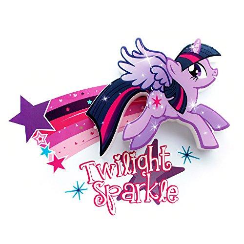 3D light FX My Little Pony Twilight Sparkle 3D Deco Mini-Sized LED Wall Light -