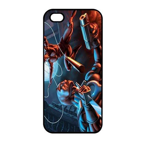 Coque,Custom Charming Deadpool Movie Plastic Hard Case Covers for Coque iphone SE & Coque iphone 5 & Coque iphone 5S