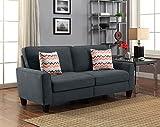 Serta RTA Astoria Collection 78″ Sofa in City Skyline Charcoal, CR46295P