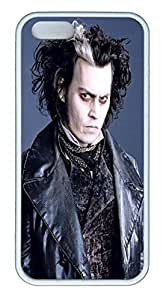 iPhone 5S Case and Cover Sweeney Todd TPU Silicone Rubber Case Cover for iPhone 5 and iPhone 5s White by Maris's Diaryby Maris's Diary