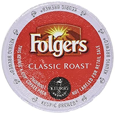 Folgers Gourmet Classic Coffee, Medium Roast, K-Cups (80 ct.) from Folgers