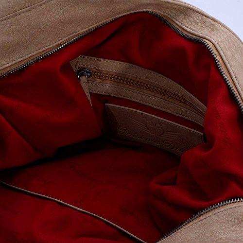 Fritzi aus Preußen Handtasche Brienna Kuba 85 Wheat Damen Tasche Taschen Bag