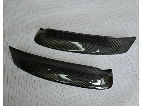 (100% Carbon Front Bumper Splitter Carbon Fiber M3 Style for BMW E46 1998-2004)