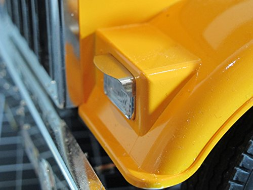 - Upper Headlight Bezel Housing for Tamiya R/C TOY 1/14 King Hauler Globeliner