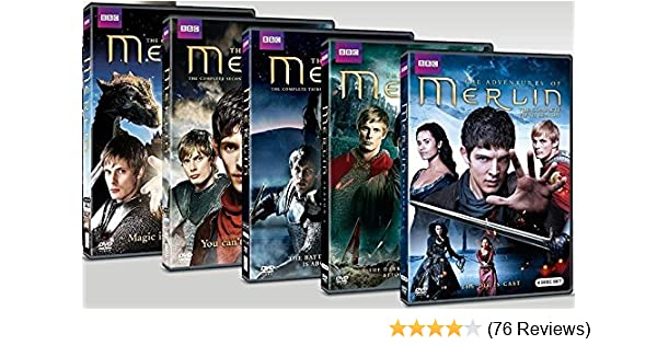 Amazon com: Merlin: The Complete BBC Series (Seasons 1-5): Bradley