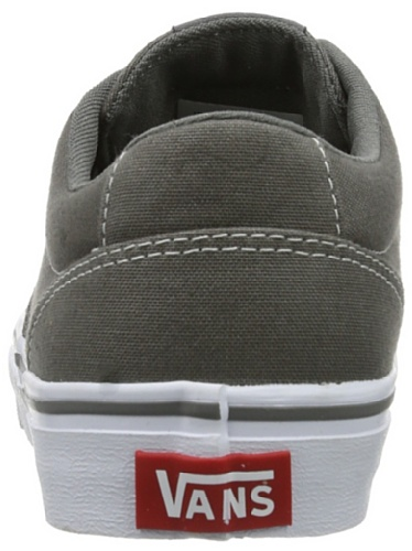 Winston Gris charcoal Baskets Femme W Grey Mode Vans white 1qBZ5fnw5