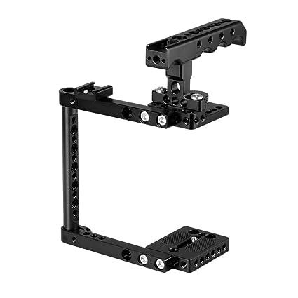 CAMVATE Kit de Jaula de cámara con Adaptador de Montaje de Zapata ...