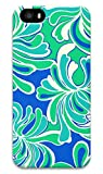 Online Designs lilly blue flowers PC Hard new hot channel case iphone 5