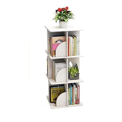 buy popular c83a0 964a5 Amazon.com: Jcnfa-Shelves Rotating Bookshelf Cube Display ...