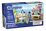 juice bar toys - Brictek Children's Imagine Juice Bar and Table Interlocking Building Brick Toy (114 Piece)