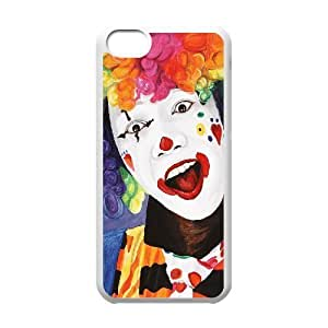 linJUN FENGProtection Cover Hard Case Of Clown Cell phone Case For iphone 6 plus 5.5 inch