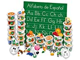 Lakeshore Spanish Alphabet Teaching Tubs