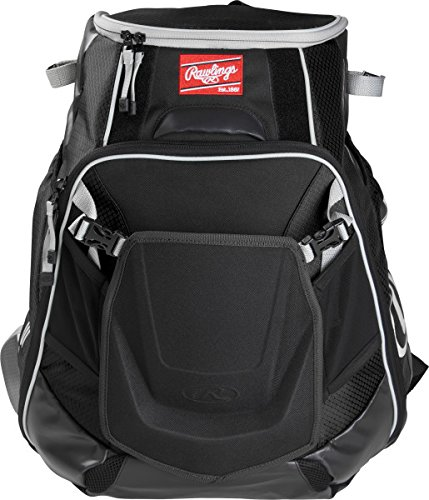 Rawlings Sporting Goods Velo Back Pack Black