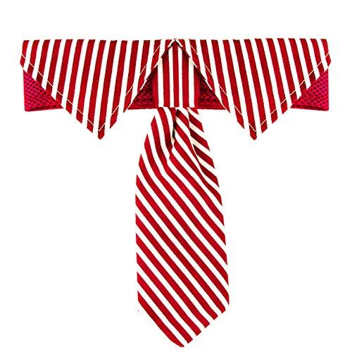 Dog Tie Adjustable Stripes Neckties For Large Dog Pet Grooming Bow Ties Necktie