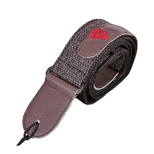 guitar strap adjustable soft cotton