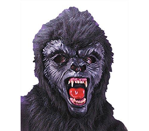 Gorilla DLX Mask with Teeth Costume Item - FunWorld -