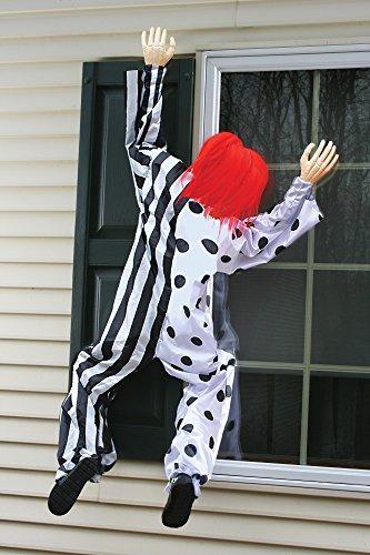 Clown Decor (Killer Clown Window Hanging Decoration Standard)