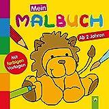 Mein erstes Malbuch (Löwe): Ab 2 Jahren - Mit farbigen Vorlagen