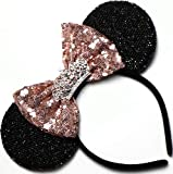 CLGIFT Rose gold Minnie Ears,Pick your