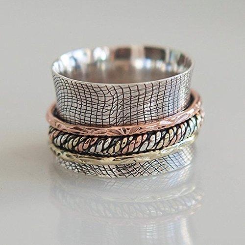 Spinner Ring - Meditation Ring - Anti